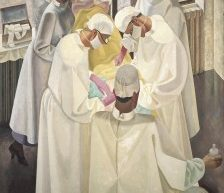 A_surgical_operation._Oil_painting_by_Reginald_Brill_Wikimedia